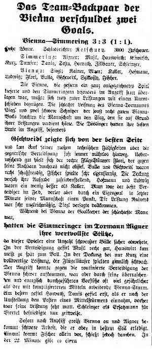 Wiener Sonn-und Montagszeitung - 1