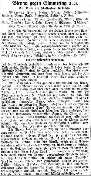 Wiener Sporttagblatt - 1