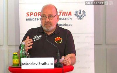 1.SSC im TV – Obmann Sraihans im ORF