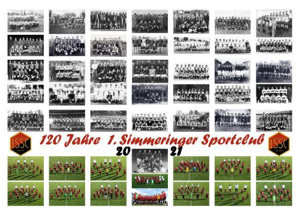 2021-Wandkalender: 120 Jahre 1.SSC